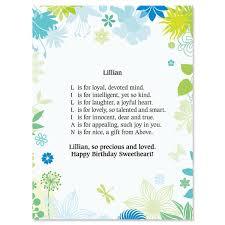 thanksgiving story bracelet poem floral name poem print current catalog