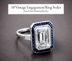 vintage love rings images 10 vintage engagement ring styles you will love junebug weddings png