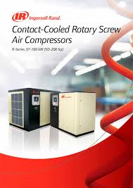 r series 37 160 kw ingersoll rand pdf catalogue technical