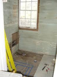 Horizontal Beadboard Bathroom Back Bath