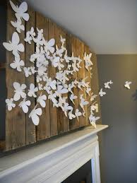 Big Wall Decor by Large Butterfly Wall Decor Homeremodelingideas Net