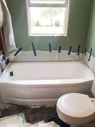 how to paint a bathtub easily u0026 inexpensively my creative days