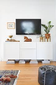 How To Style Your Media Console Consoles Interiors And Living Rooms