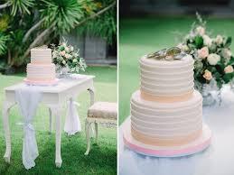 Wedding Cake Bali Bohemian Beach Styled Shoot In Bali Wed Over Hills
