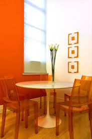 orange dining room 30 best the color orange images on pinterest orange paint colors