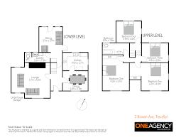 cul de sac floor plans 2 bowen avenue one agency launceston