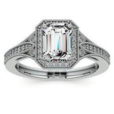 Art Deco Wedding Rings by Style Guide Engagement Rings With Emeralds And Art Deco Flair