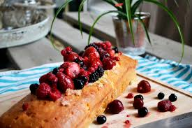 tres leches cake with summer fruits live love yummy