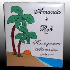 honeymoon photo album personalized honeymoon photo album car personalized