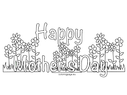 coloring pages mothers day flowers mother s day coloring pages get coloring pages