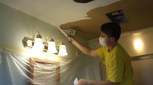 Easiest Way To Scrape Popcorn Ceiling by How To Resurface A Popcorn Ceiling Curious Com