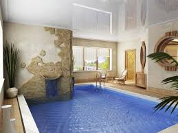 make your indoor pool design comfortable with a stunning touch