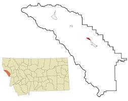 Missoula Zip Code Map by Superior Montana Wikipedia