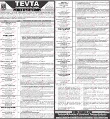 general manager hr district manager job in tevta 2018 jobs
