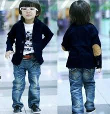 wholesale 3t 10 years blue cotton boys suits boys outwear 100 110