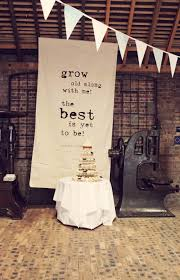 wedding backdrop quotes what a great anniversary party backdrop party till the cows come