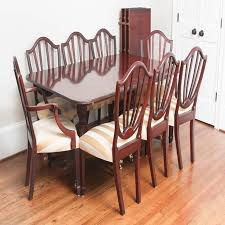 Baker Dining Room Furniture Baker Historic Charleston Dining Room Table And Chairs Ebth