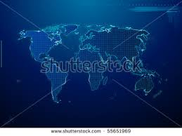world map stock image vector tech map free vector stock graphics images