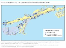Map Of Florida Gulf Side by Tidal Flooding And Sea Level Rise In The Florida Keys 2015