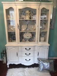 shabby chic china cabinet gorgeous antique french provincial shabby chic china cabinet