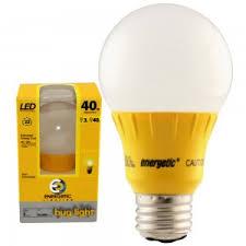 bug light light bulbs energetic 3w led 40w equal yellow light medium base topbulb