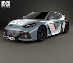 hyundai supercar concept hyundai rm16 2016 3d model hum3d