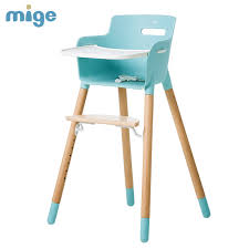 Dining High Chairs Baby Dining Chair Chair Multifunctional Seat High Chair Beech Bb