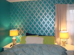 Teal Accent Wall by Applying The Hassle Free Yet Stunning Bedroom Accent Wall