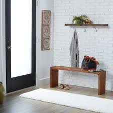 60 inch weathered u0027reclaimed look u0027 bench free shipping today