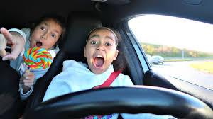 car toys black friday sale bad kids driving parents car toy hunt shopping part 2 skit