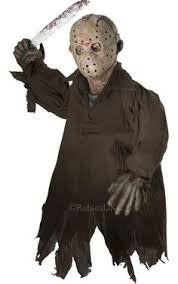Jason Halloween Costume Zombie Ghost Face Child Creepy Masks