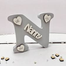 mothers day gift for nanny s day gift for nanny by craft heaven notonthehighstreet