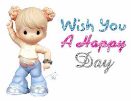 wish you a happy day desiglitters