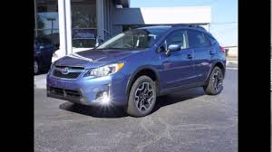 crosstrek subaru red 2016 subaru crosstrek hybrid quartz blue pearl youtube