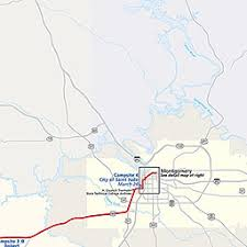 selma map maps selma to montgomery national historic trail u s national