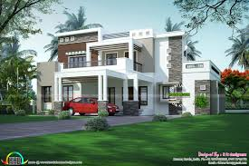 Modern Box House 4 Bedroom Architecture Home In 2995 Sq Ft Kerala Home Design