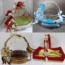 wedding gift baskets wedding gift basket at rs 450 s uphaar ki tokriyaan