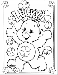 superb printable care bear coloring pages kids care bear