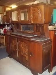 Marble Top Buffet by Today U0027s Amazing Find Antique Marble Top Buffet W Hutch 10136