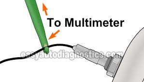 part 1 how to test the front oxygen sensor with a multimeter 2 2