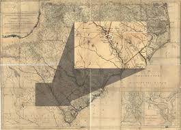Georgia South Carolina Map George Galphin And The War In The South 1775 1780 Journal Of