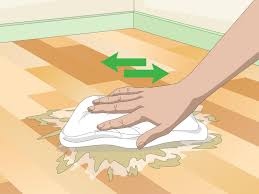 Dog Urine Hardwood Floors Vinegar by 3 Ways To Clean Vomit From Wood Floors Wikihow