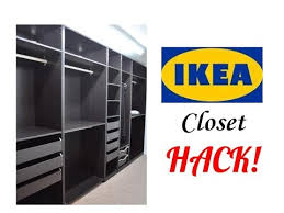 Ikea Basement Ideas Ikea Closet Hack U203c Basement Finishing Ideas U203c Youtube