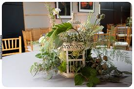 24 birdcage centerpiece green u0026 gray wedding significant events