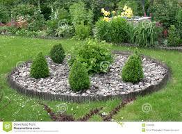 Rock Gardening Rock Garden Stock Image Image Of Plants Gardening Summer 5340603