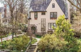 Arts And Crafts Garden - arts and crafts cottage just listed in roland park beautiful