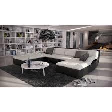 grand canap en u grand canapé d angle cuir design guevara 1 599 00