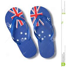 Aussie Flag Australian Flag Thongs Stock Photo 18716289 Megapixl