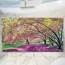 nature u0026 floral u0026 polka dot bath rugs u0026 mats you u0027ll love wayfair