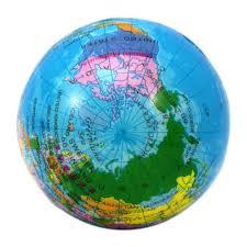 World Map Globe by Aliexpress Com Buy 1pc Foam Rubber Ball Toy World Map Foam Earth